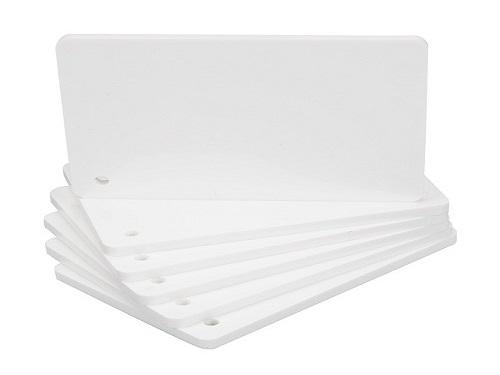 纯新料纯白PVC板1.4密度