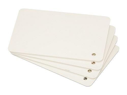 纯新料象牙白PVC板1.4密度